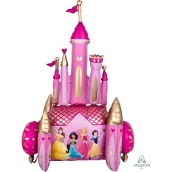 Balon Folie AirWalker Disney Princess - 88 cm x 139 cm, Amscan 39807