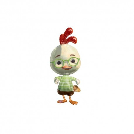 Balon Folie Figurina Chicken Little, 41 x 99 cm, 10711
