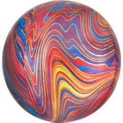 Balon Folie Orbz Marblez - 38 x 40 cm, Radar 41397