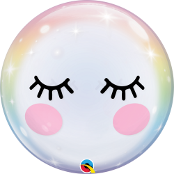 Birthday Ombre & Dots Balloon, Qualatex 13232