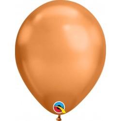 Chrome Latex Balloons Gold Copper, Qualatex 12937