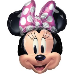 Minnie Mouse Shape Foil Balloon - 53 cm x 66 cm, A 40979