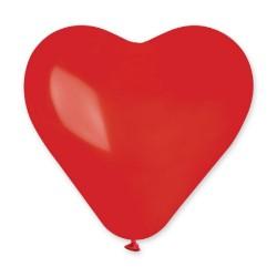 "37"" Latex Red Heart Balloon, CR3.05"
