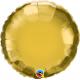 Folie 45 cm rotund auriu metalizat, Q 35431