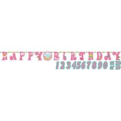 Banner Princess pentru petrecere cu personalizare - 3.2 m x 25.5 cm, Radar 121623