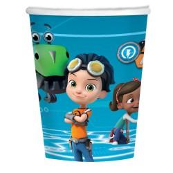 8 Cups Rusty Rivets Paper 250 ml, Radar 9904158