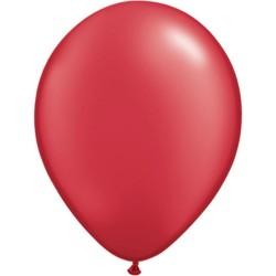 Balon Latex Pearl Ruby Red 16 inch (41 cm), Qualatex 87176
