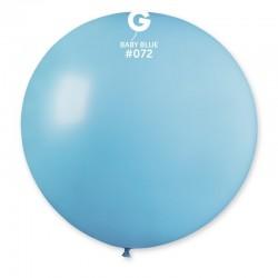 Balon Latex Jumbo 100 cm, Alb 01, Gemar G40.01, 1 buc