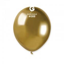 Baloane latex 5''/13 Gold - Shiny (Chrome), Radar 50.88