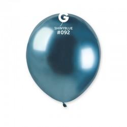 Baloane latex 5''/13 Blue - Shiny (Chrome), Radar 50.92