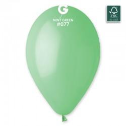 Baloane Latex 13 cm, Verde 77, Gemar A50.77, set 100 buc