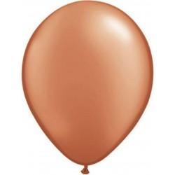Balon Latex Pearl Burnt Sienna 5 inch (13 cm), Qualatex 13719, set 100 buc
