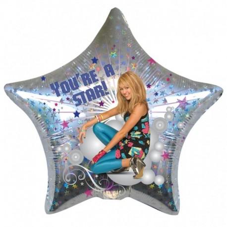 Disney Hannah Montana Star Standard Foil Balloons, 45cm, 17841