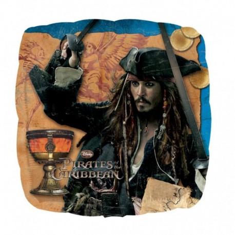 Pirates of the Caribbean Captain Jack Standard Foil Balloons, 45 cm, 22301