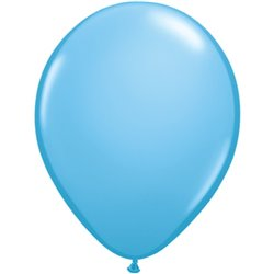 Balon Latex Pale Blue, 16 inch (41 cm), Qualatex 43879, set 50 buc