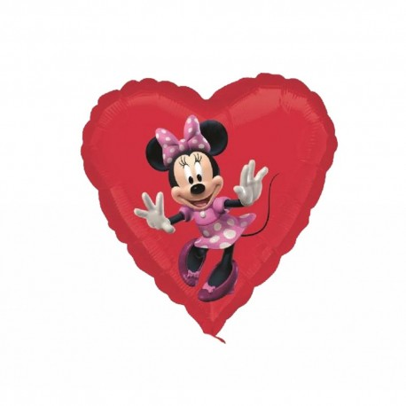 Balon Folie Minnie,  45 cm, 22944ST