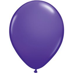 Balon Latex Purple Violet, 16 inch (41 cm), Qualatex 82701, set 50 buc