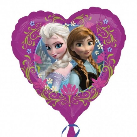 Balon Folie 45 cm Frozen Love, Amscan 29842