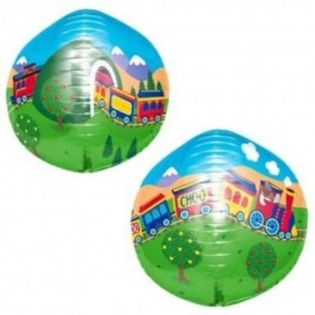 Balon Folie Sfera 43 cm 3D trenulet, 01177