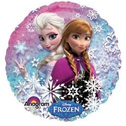 Balon Folie Holografic Frozen, 45 cm, 27552