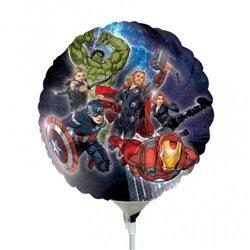Balon Mini Folie Eroi Marvel Avengers, 23 cm, 24845