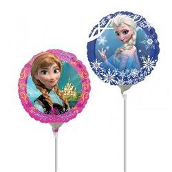 Balon Mini Folie Printese Frozen, Anagram, 23 cm, 28161
