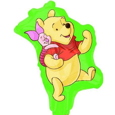 """Mini Foil Balloon Winnie the Pooh St, 9"""", 22958ST"""