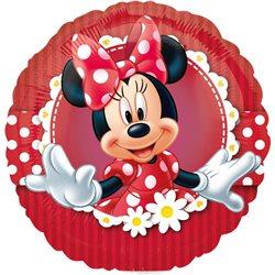 Balon Mini Folie Minnie Mouse, Anagram, 23 cm, 24820