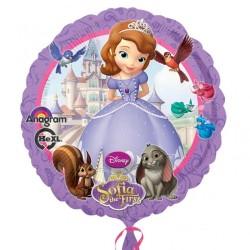 Disney Sofia The First Standard Foil Balloon, 45 cm, 27529
