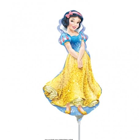 "Princess Snow White Mini Shape Foil Balloons, Anagram, 9"", 28477"