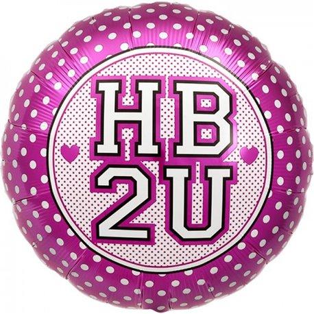 Balon Folie Buline HB 2U, 45 cm, 00160