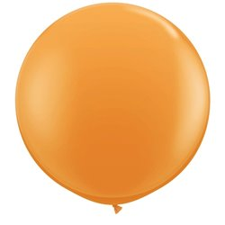 Baloane latex Jumbo 3' Orange, Qualatex 42736, set 2 buc