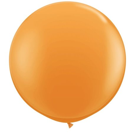 Baloane latex Jumbo 3' Orange, Qualatex 42736, set 2 buc