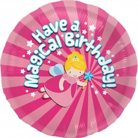 "Balon Folie ""Have a magical birthday"", 45 cm, 00799"