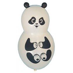 Baloane figurine latex mici - Panda, 40 cm, Albe, Riethmuller 450030, set 4 buc