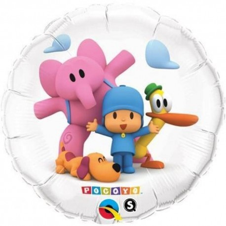 Balon Folie Pocoyo&Friends, 45 cm, 41145