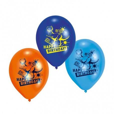 "Baloane latex 8"" inscriptionate Toy Story Asortate, Riethmuller 450230, set 6 buc"