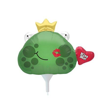 """Foil Balloon Kiss Me Frog Prince, 32"""", 00624"""