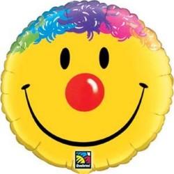 Smiley Face Foil Balloon, 45 cm, 26046