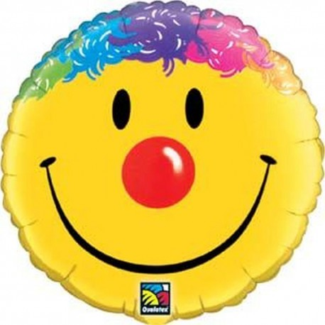 Smiley Face Foil Balloon, 45 cm, 26046