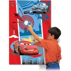 Disney Cars Party Game Amscan 994144, 1 piece