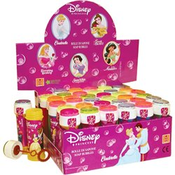Disney Princess 60ml Soap Bubbles Party Toy, Dulcop 448800, 1 piece