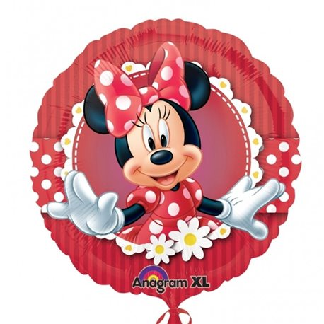Mad About Minnie Foil Balloon, 45 cm, 24813