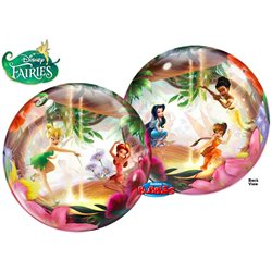"Balloon Bubble Tinkerbell and Friends, Qualatex, 22"", 19874"