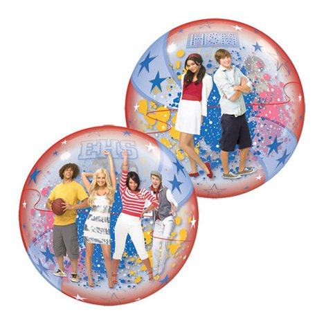"High School Musical Stars Single Bubble Balloon, Qualatex, 22"", 19025"
