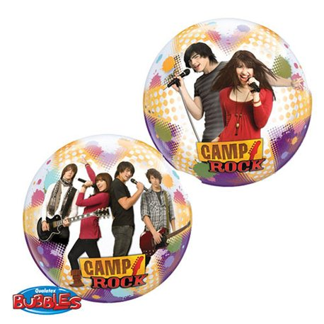"Camp Rock Stars Single Bubble Balloon, Qualatex, 22"", 19028"