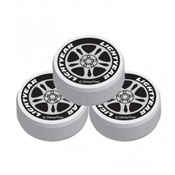 Disney Cars Wheel Erasers, Amscan 994149, Pack of 8 Pieces
