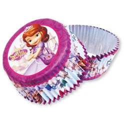 Forma Briose Sofia The First, Amscan 997169, Set 24 buc