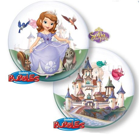 "Balon Bubble 22"" Licenta Sofia, 65577"
