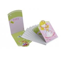 Invitatii de petrecere Little Princess, Amscan RM551456, Set 6 buc